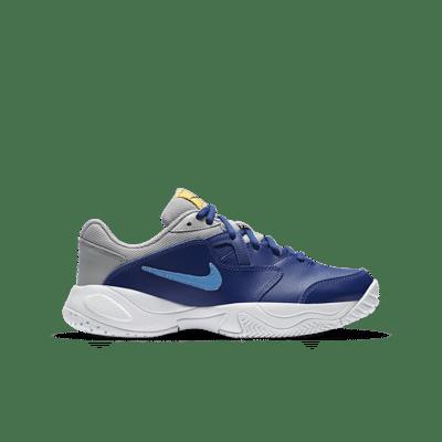NikeCourt Jr. Lite 2 Blauw CD0440-401
