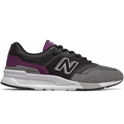 New Balance  CM 997H Sneaker Zwart Grijs Paars  524316-0172