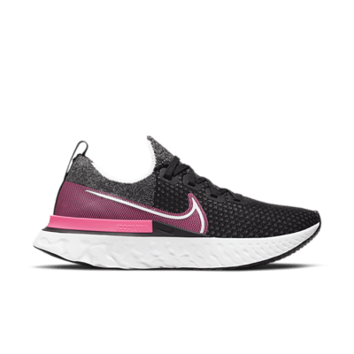 Nike React Infinity Run Flyknit Zwart CD4372-009