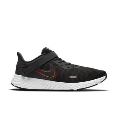 Nike Revolution 5 FlyEase Zwart BQ3211-011