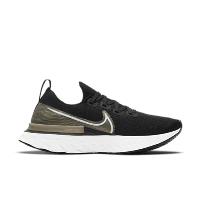 Nike React Infinity Run Flyknit Premium Zwart CZ2861-001