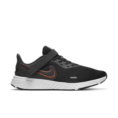 Nike Revolution 5 FlyEase Zwart CJ9885-011