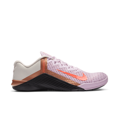 Nike Wmns Metcon 6 'Light Arctic Pink Copper' Pink AT3160-686