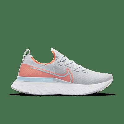 Nike React Infinity Run Flyknit Grijs CD4372-008