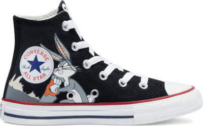 Converse x Bugs Bunny Chuck Taylor All Star Hi Kids Black  369228C