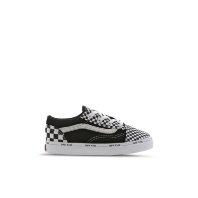 Vans Old Skool Checkerboard Velcro Black VN0A3TFY0A6