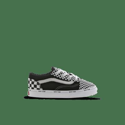 Vans Old Skool Checkerboard Velcro Black VN0A3TFY0A6