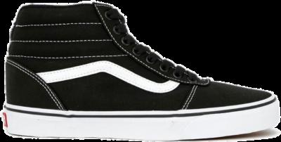 Vans Ward Hi Sneakers Heren zwart – wit VN0A38DN1871