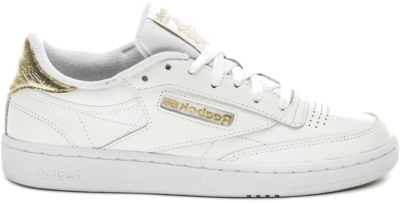 Reebok Club C 85 Schoenen White / Gold Metallic / White FW8287