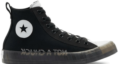 Converse Black Ice Not A Chuck High Top Black 169467C