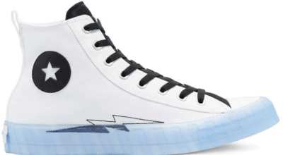 Converse Black Ice Not A Chuck High Top White/ Black 169468C