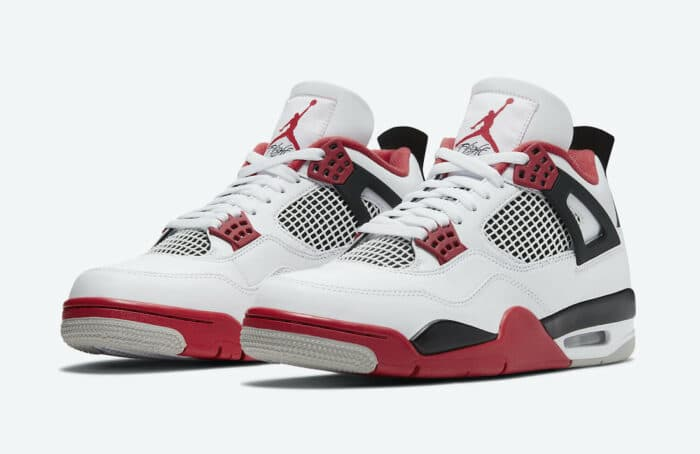 jordan 4 Nike Air fire red