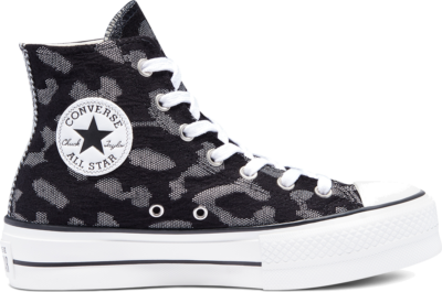 Converse Mix and Match Platform Chuck Taylor All Star High Top Black/Grey/White 569713C