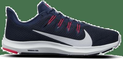 Nike Quest 2 Hardloopschoenen Donkerblauw Blauw CI3787-402