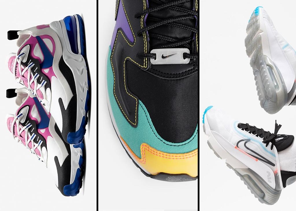 Drie van die: Alle dames opgelucht het weekend in met Nike koopjes