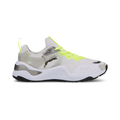 Puma Rise Mixed Metallic sportschoenen Wit / Geel 373945_01