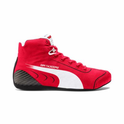 Puma Scuderia Ferrari SpeedCat Pro Sebastian Vettel Motorsport schoenen voor Heren 306801_01