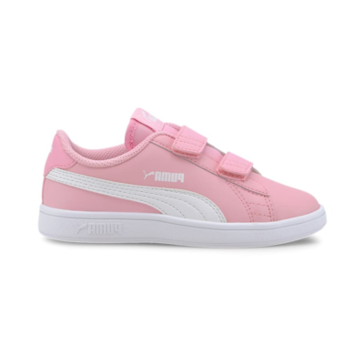 Puma Smash v2 Leather sportscchoenen Roze / Wit 365173_24
