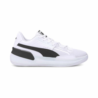Puma Clyde Hardwood Team basketbalschoenen Wit / Zwart 194454_01