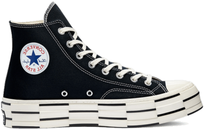 Converse Converse x Brain Dead Chuck 70 High Top Black 170549C