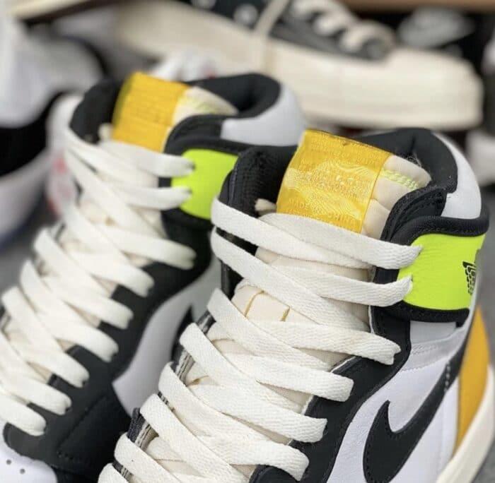 volt gold Air Jordan 1