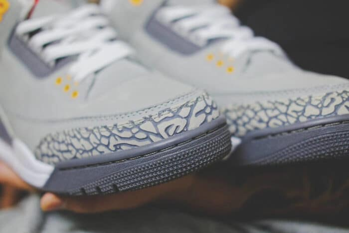 nike cool grey Air Jordan 3
