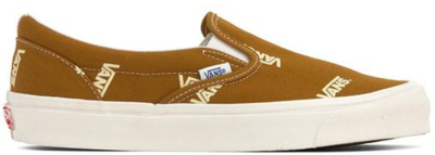 Vans Slip-On Multi-Logo Brown VN0A45JKVQG