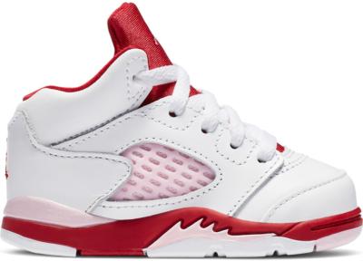 Jordan 5 Retro White Pink Red (TD) 725172-106