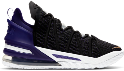 Nike LeBron 18 Lakers CQ9283-004 / CQ9284-004