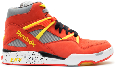 Reebok Pump Omni Zone Packer Shoes Nique Red 4-J99942