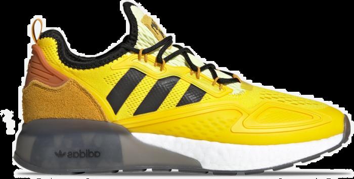 """Adidas Ninja x ZX 2K Boost """"Yellow"""" FZ1882"""