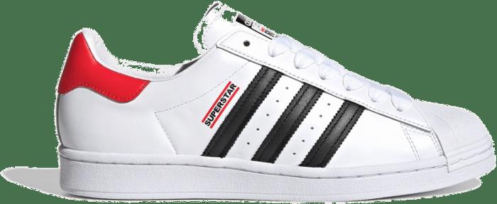 adidas Superstar X Run DMC White FX7616