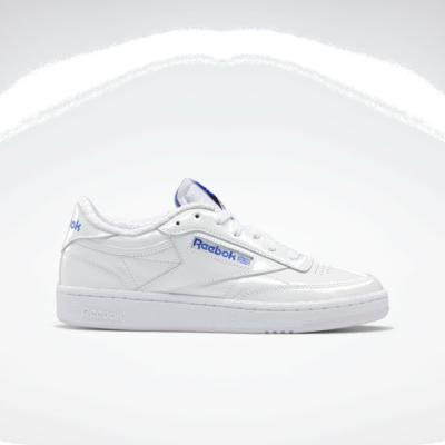 Reebok Club C 85 White / Luminous Lilac / Court Blue FX2972