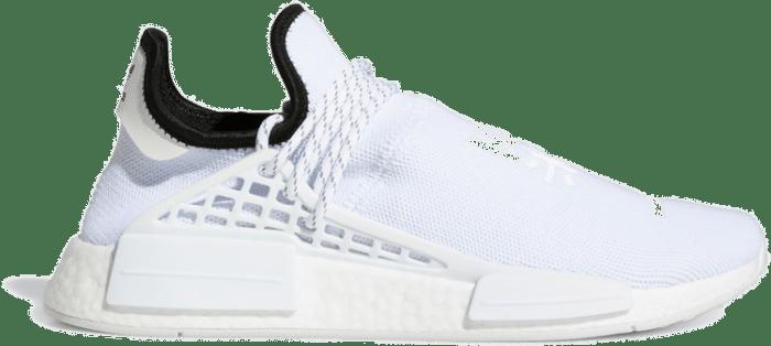 "Adidas Pharell x NMD HU ""Triple White"" GY0092"