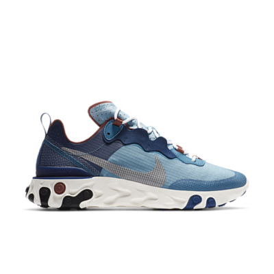 Nike React Element 55 Blauw CU1466-400