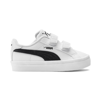 Puma Smash Vulc sportschoenen Wit / Zwart 370706_04