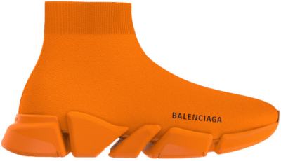 Balenciaga Speed 2.0 Neon Orange 617239W2DBH7521