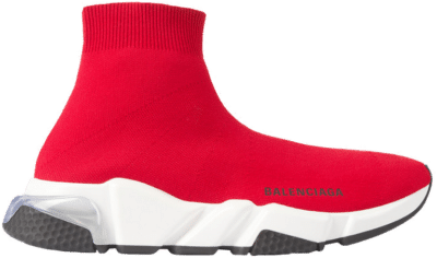 Balenciaga Speed Clearsole Red (W) 607543W05GG6591