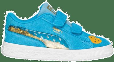 PUMA x Sesame Street 50 Suede Statement Kinderen Sneakers 370384-01 blauw 370384-01
