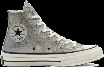 Converse Elevated Metallic Chuck 70 High Top Black 570531C
