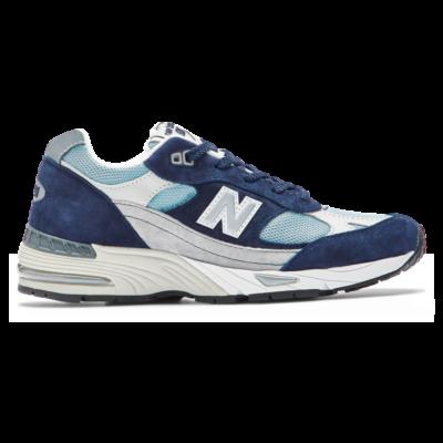 Damen New Balance 991 Navy/Pale Blue