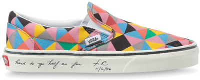 Vans Ua Classic Slip-on x Moma Faith Ringgold Multi VN0A4U381IC1