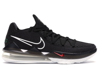 Nike LeBron 17 Low Black White CD5007-002/CD5006-002