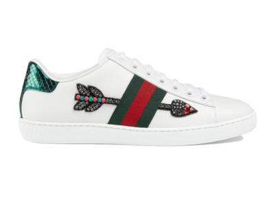 Gucci Ace Embroidered Arrow 454551 02JP0 9064