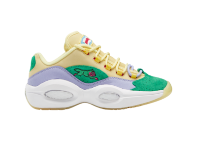 Reebok BBC Question Low Schoenen Filtered Yellow / Lilac Glow / White FZ4345