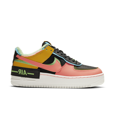 "Nike Air Force 1 Shadow SE ""Solar Flare"" CT1985-700"