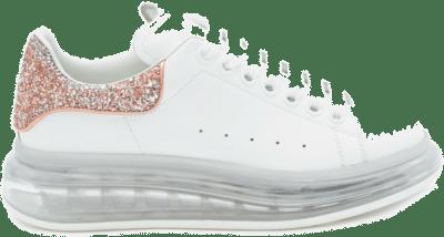 Alexander McQueen Oversized White Pink Glitter (W) 621718WHZ419928