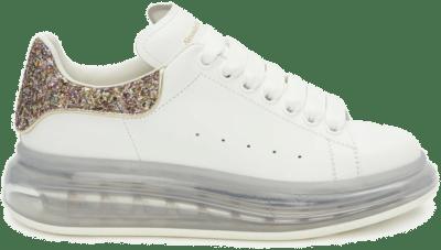 Alexander McQueen Oversized White Candy Glitter (W) 621718WHYB19534