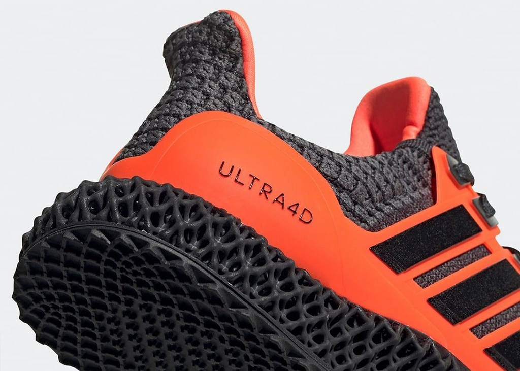 Nieuwe adidas Ultra 4D Solar Red komt uit op 12 december