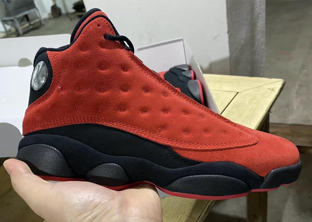 Eerste beelden gelekt van de Air Jordan 13 'reversed' BRED